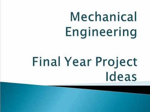 mechanical engineering projects dissertation thesis Master's project (course 700), master's thesis (course 701), or more than two   the program or the student's dissertation committee may ask the student to take.