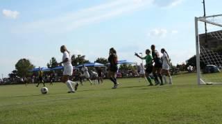 UT Tyler Women's Soccer (Brittany Matthews Goal)