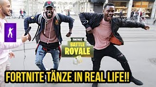 FORTNITE Dance in Real Life Prank!!