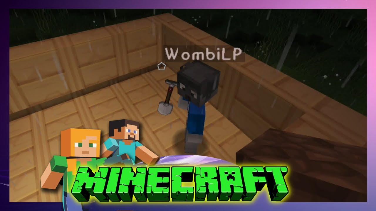 Minecraft Friends Wombi Erklärt Mir Das Dachdecken - Minecraft kostenlos spielen keine demo