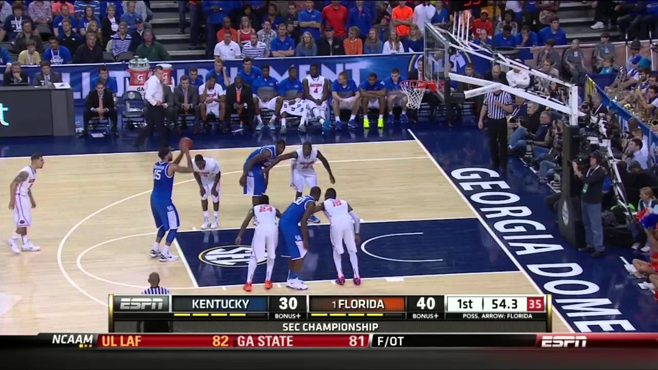 How To Watch Kentucky Wildcats Basketball Vs Florida: 3/16/2014 Florida Gators Vs Kentucky Wildcats