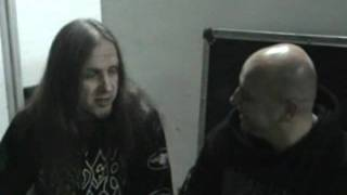 Vader Peter Intervju with Zeus Macedon Hard & Heavy MK Macedonia 06.12.2011 Part II