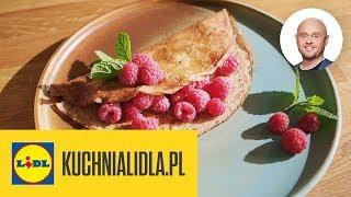 NALEŚNIKI ORKISZOWE Z MIODEM  | Paweł Małecki & Kuchnia Lidla