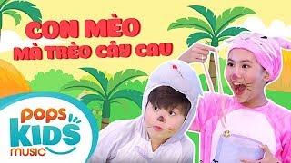 Mầm Chồi Lá - Con Mèo Mà Trèo Cây Cau | Nhạc Thiếu Nhi Vui Nhộn - Kids Songs - Nursery Rhymes