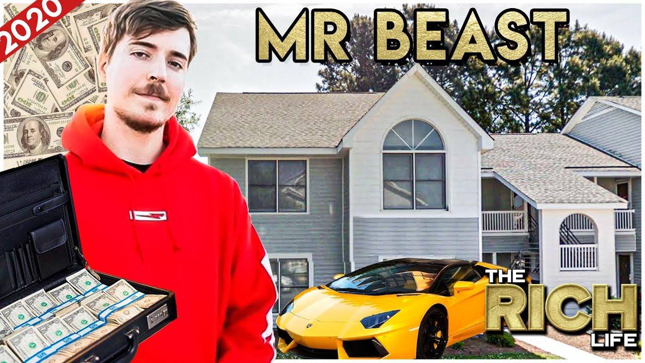 MrBeast   The Rich Life   Insane Million Dollar Spendings (Donations, Cars & Houses)