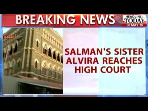 Salman's Sister Alvira Reaches Bombay High Court