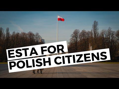 From Poland? ESTA For Polish Citizens.