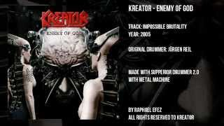 Kreator - Impossible Brutality [ Drums Only ]