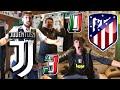JUVENTUS 3-0 ATLETICO MADRID   LIVE REACTION *EPICA* TIFOSI JUVENTINI alla TRIPLETTA di RONALDO HD!!