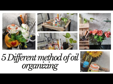 5-different-methods-of-organizing-oil-bottles-|-oil-organizers-|-kitchen-countertop-organizers