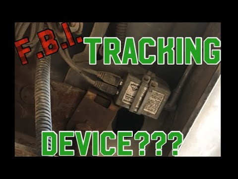 Mechanic Found A Tracking Device Under Our TRUCK .
