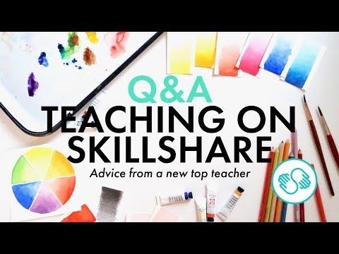 How To Teach On Skillshare Q&A | Advice From A Top Teacher