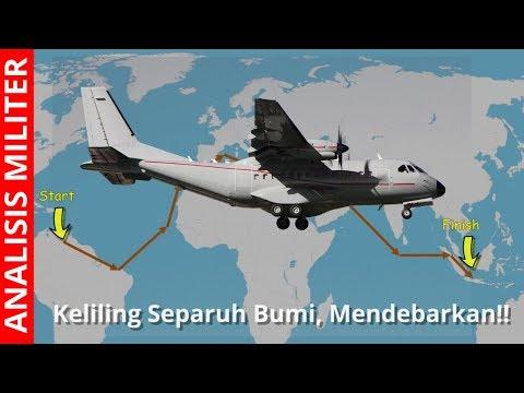 Dramatis dan Penuh Tantangan, Pesawat Buatan Indonesia ini Kelilingi Separuh Bumi