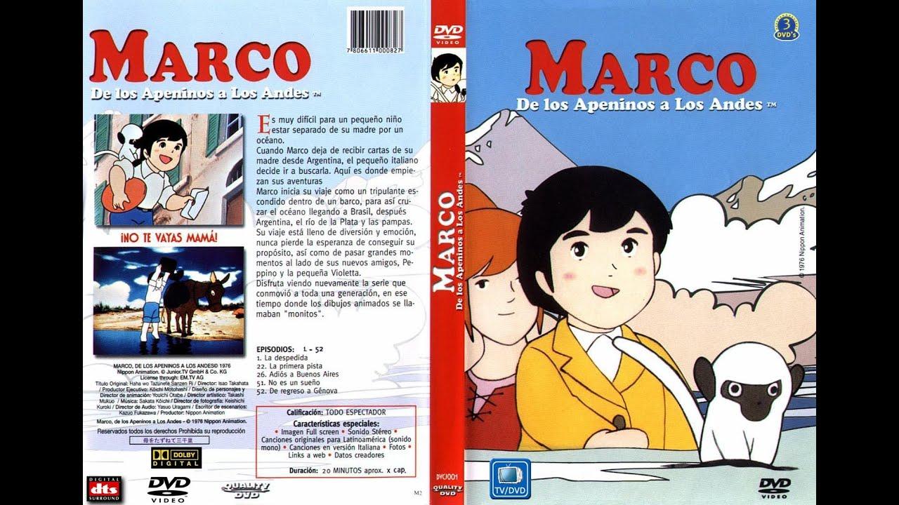Pelicula Marco De Los Apeninos A Los Andes 1999