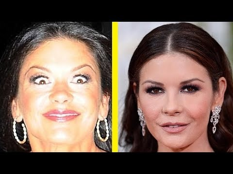 Catherine Zeta-Jones from 5 to 47 years old in 3 minutes!