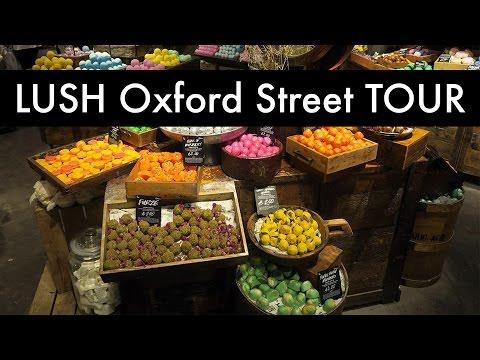 In Depth LUSH Oxford Street TOUR | Kausi Noodles
