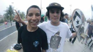 Time da Converse no Marina Skatepark