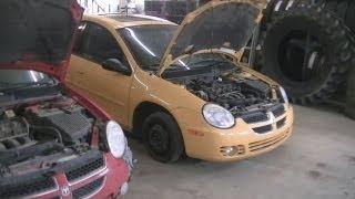 Dodge Neon SX2.0 Engine Swap pt1 (08/03/13)