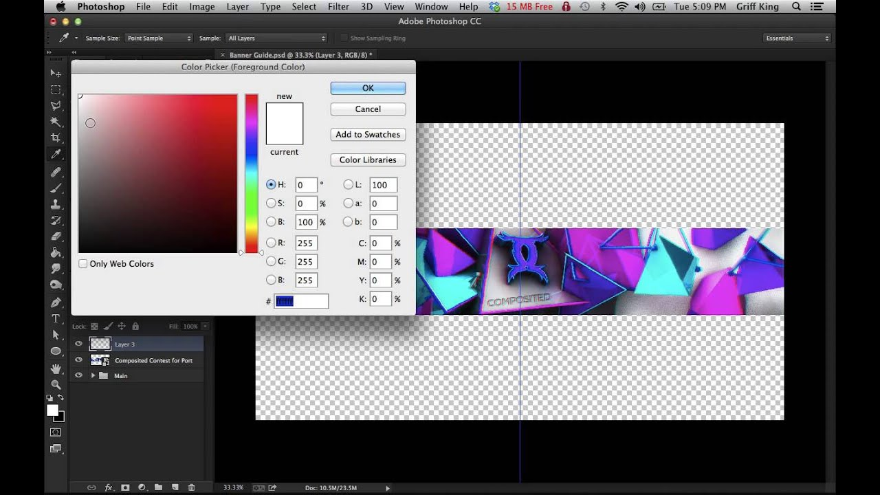 how make your own banner guide  template tutorial  photoshop for beginners  by bloodrust