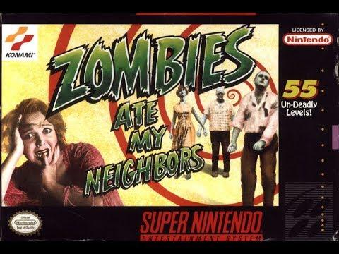 Zombies Ate My Neighbors / Зомби Съели Моих Соседей [SNS-ZA-USA] [English] [SNES]