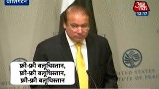Nawaz Sharif Heckled In US With Slogans Of 'Free Balochistan'