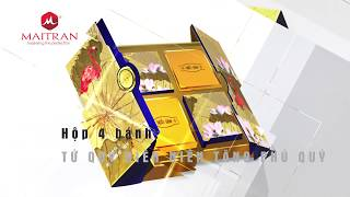 Bánh trung thu Ngân Đình có phủ vàng 24K ?!
