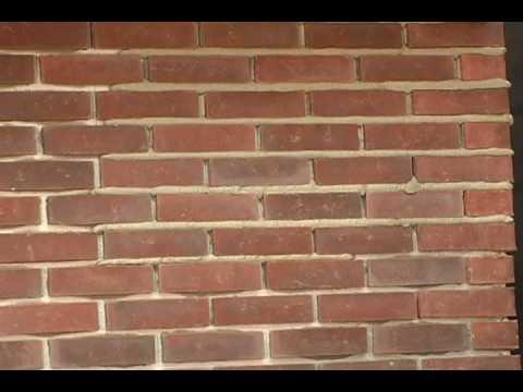 Boulder Creek Stone Installation Video  Part 5B Installing Thin Brick  YouTube