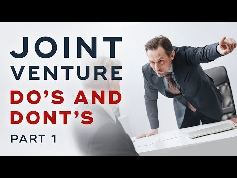Do's and Don'ts When Approaching A Possible Joint Venture Partner   Dan Lok
