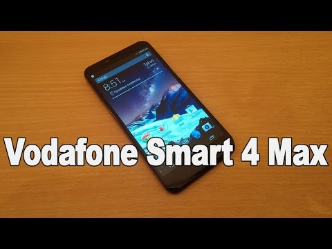 Vodafone Smart 4 Max Hands on Review [Greek]