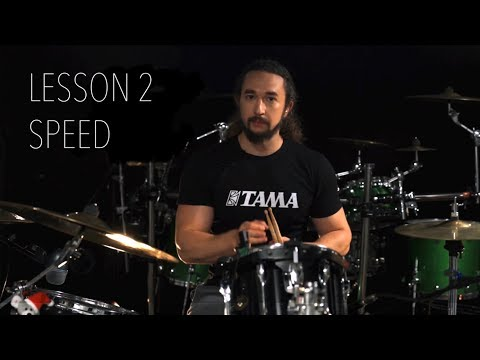 Double Bass Drum Lesson 2 - Building Up The Speed