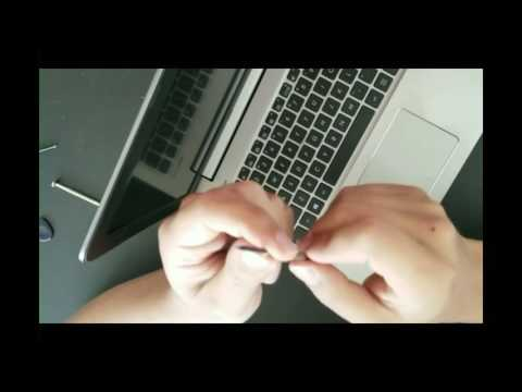 Laptop screen replacement / How to replace laptop screen ASUS K501 UX-AH71
