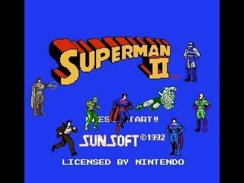 [NES] Superman 2 - Lex Luthor Edition -  Gameplay