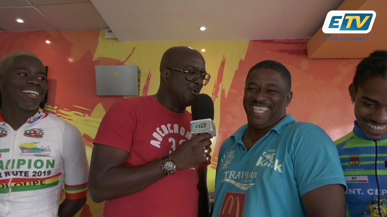 Remise des cadeaux du Tour de Guadeloupe 2019