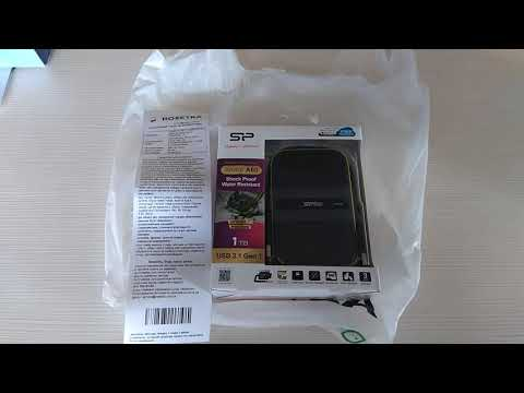 Жесткий диск Silicon Power Armor A60 1TB SP010TBPHDA60S3K 2.5 USB 3.0 External Black