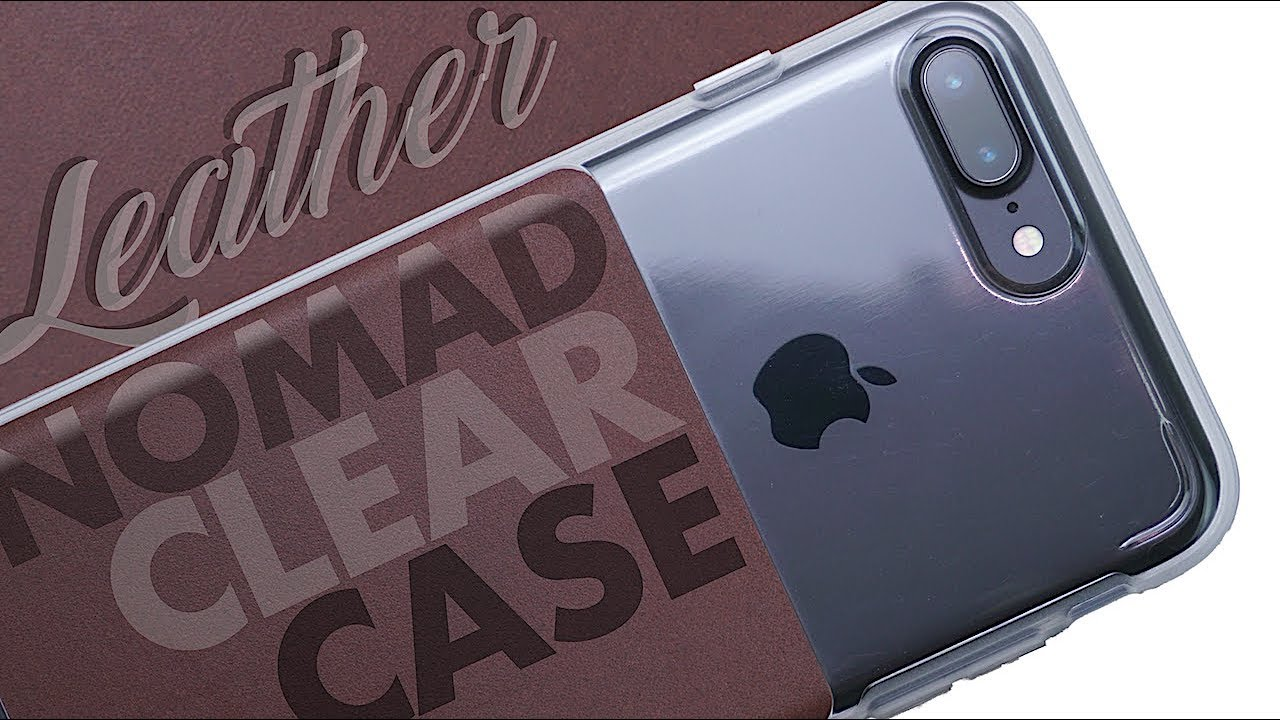 first rate 7ace5 851fb NOMAD Clear Case for iPhone 7/8 Plus - Review - Horween Leather