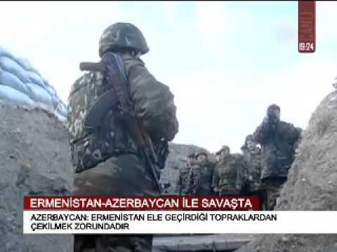 ERMENİSTAN-AZERBAYCAN İLE SAVAŞTA