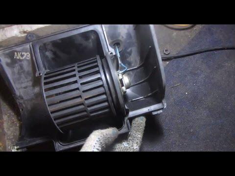 Замена моторчика печки (вентилятора отопителя) ВАЗ 2110, 2111 и 2112