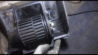 видео Ремонт печки ВАЗ 2110, 2111, 2112 - печка шумит и плохо греет