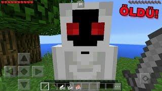MİNECRAFTTA ENTİTY 303 ÖLDÜRDÜM !! Minecraft Pocket Edition EN KORKUNÇ SEED