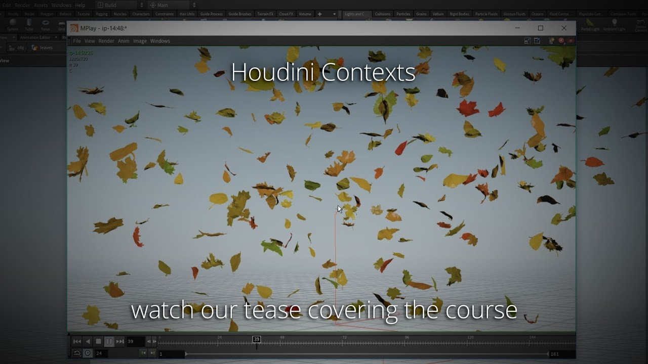 New course: Houdini Contexts and Houdini 17 now available on
