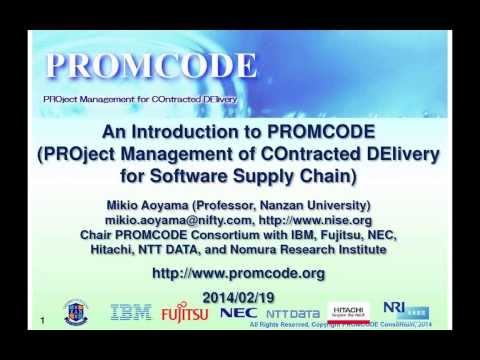 OSLC Community Update and Introduction to PROMCODE