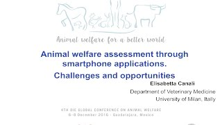 ANIMAL WELFARE ASSESSMENT THROUGH SMARTPHONE APPLICATIONS: CHALLENGES AND OPPORTUNITIES