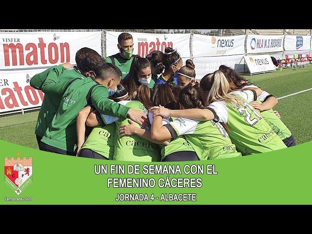Liga #RetoIberdrola 20/21. UN FIN DE SEMANA CON EL FEMENINO CÁCERES - Jornada 4ª Fase de Ascenso.