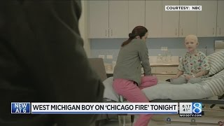 Grand Rapids boy on 'Chicago Fire'