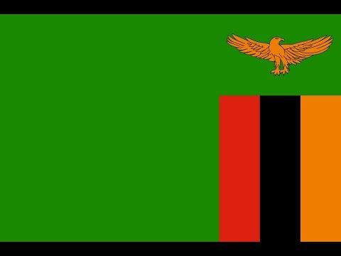 Флаг Замбии.