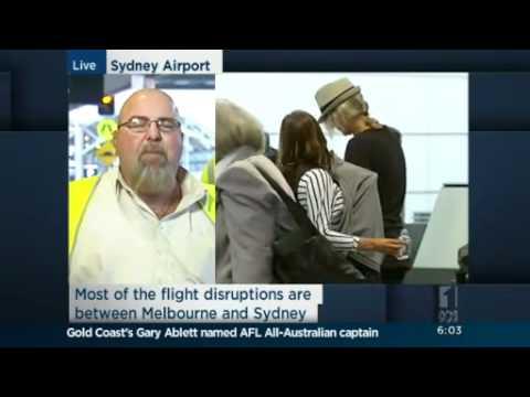 Qantas staff strike over pay