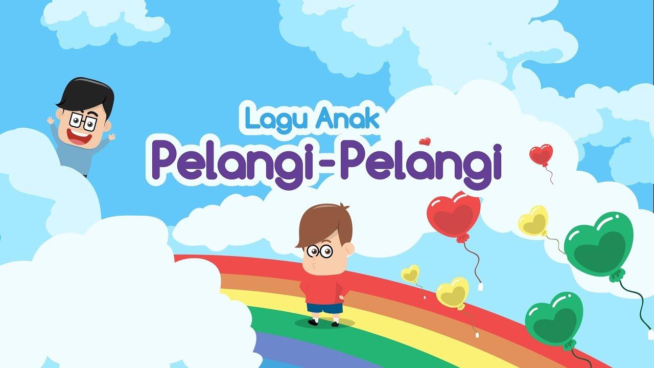 Pelangi Pelangi Lagu Anak Indonesia Eza Dan Adi Youtube