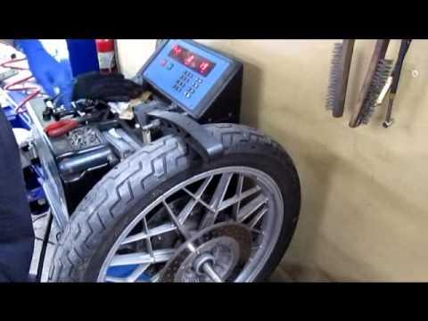 BMW Service - Front Wheel Balance