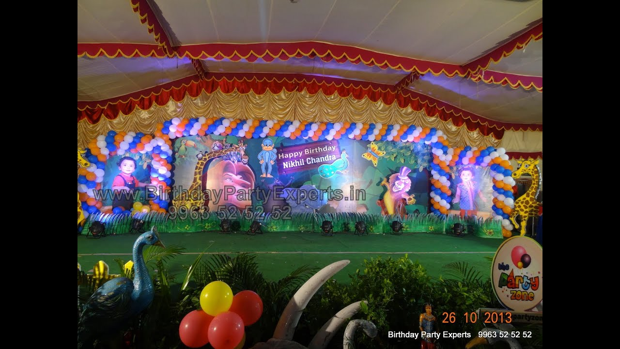 BIrthday Party Organizers And Balloon Decorators in Hyderabad Hyd