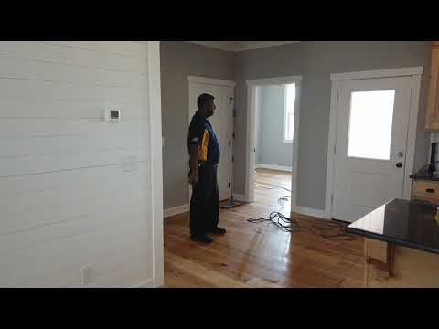 Cleaning residue from BRAND NEW engineered wood floors